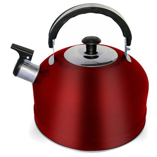 Irit Чайник со свистком IRH-418 2.5 л, красный набор форм для выпечки irit irh 924