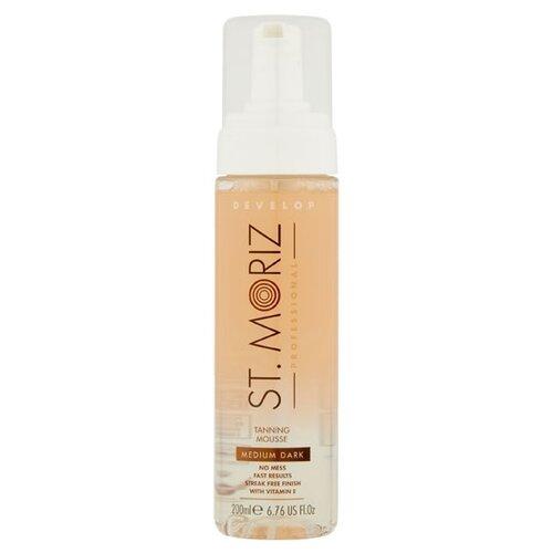 Купить Мусс для автозагара St.Moriz Professional Clear Tanning Mousse Medium-Dark 200 мл