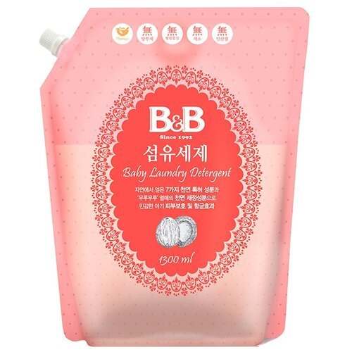 Гель для стирки B&B для детского белья 1.3 л бутылка