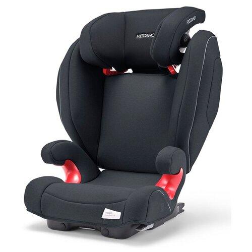 Автокресло группа 2/3 (15-36 кг) Recaro Monza Nova 2 SeatFix, Prime Mat Black автокресло recaro monza nova is гр 1 2 3 расцветка prime mat black
