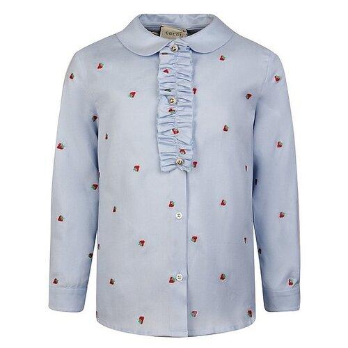 Блузка GUCCI размер 104, голубой