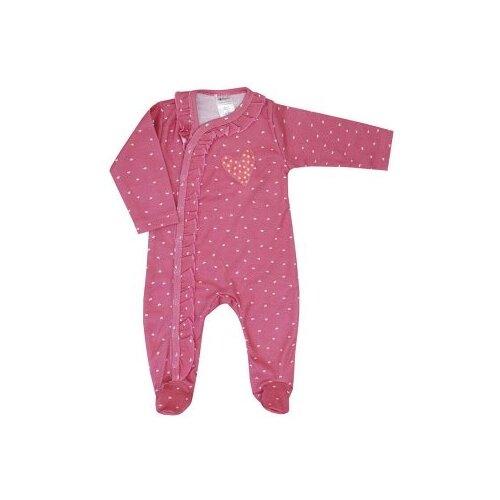 Комбинезон KotMarKot размер 68, розовый/белый комбинезон утепленный для девочки batik торопыжка цвет розовый 147 19з размер 86