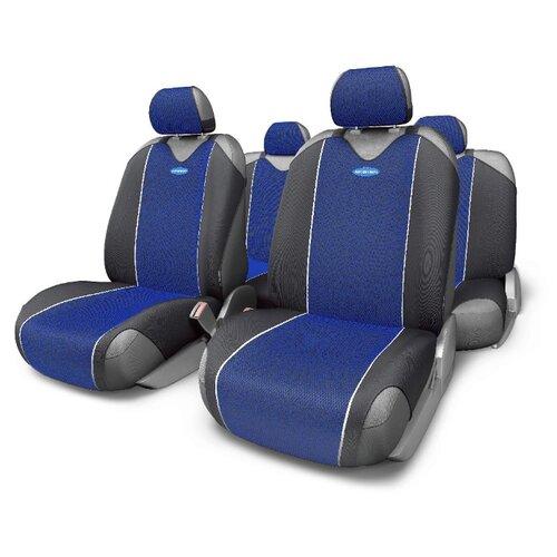 Комплект чехлов AUTOPROFI CRB-802 черный/синий autoprofi crb 402pf carbon plus