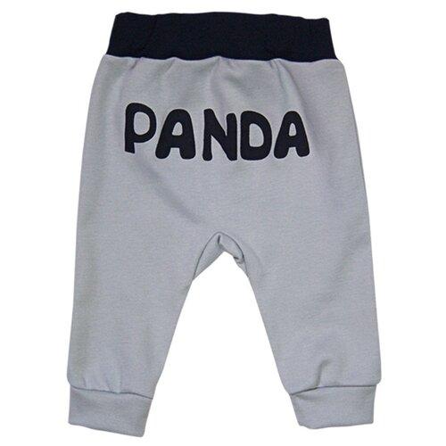 Купить Брюки СовёнокЯ Панда 2-3139 размер 52-80, серый, Брюки и шорты