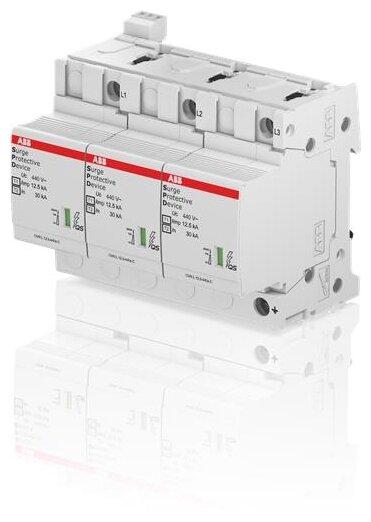 Комбинированный разрядник для систем энергоснабжения ABB 2CTB815710R3500 3П