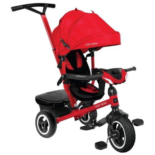 Купить Трехколесный велосипед Moby Kids Rider 360° 10x8 AIR Car красный, Трехколесные велосипеды