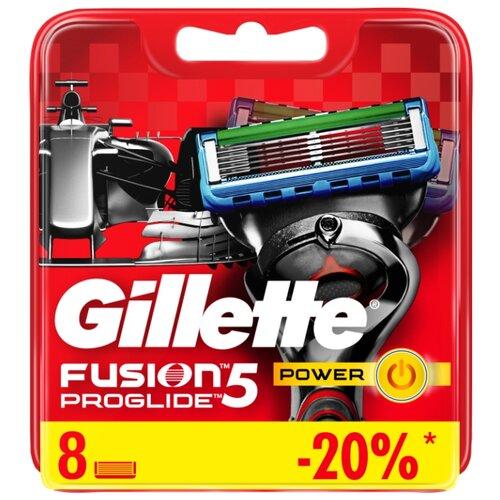 Сменные кассеты Gillette Fusion5 ProGlide Power, 8 шт. бритва proglide power 1 кас gillette