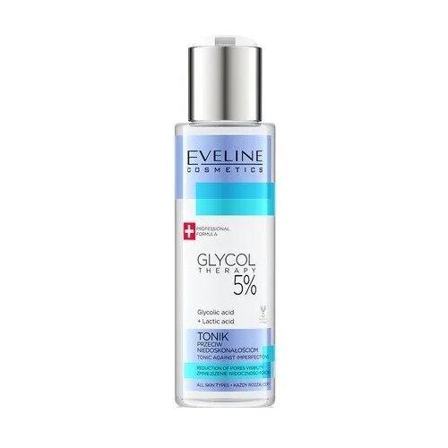 Eveline Cosmetics Тоник для лица Eveline Cosmetics Glycol Therapy 5%, 110 мл