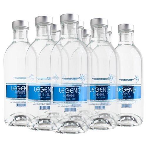 Вода питьевая глубинная Legend of Baikal негазированная, стекло, 9 шт. по 0.5 л недорого