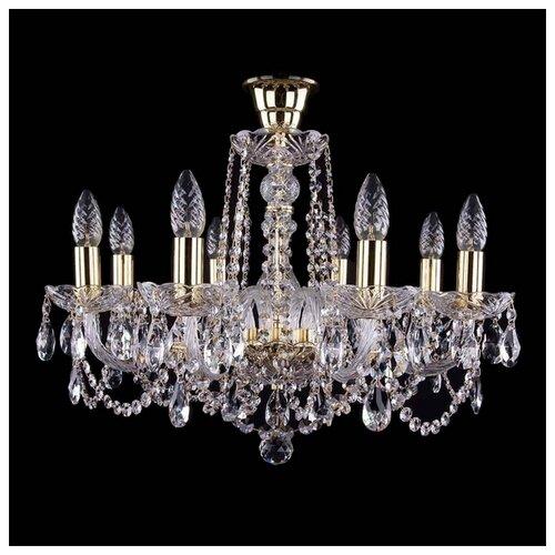 Люстра Bohemia Ivele Crystal 1402 1402/8/195/G/Tube, E14, 320 Вт люстра bohemia ivele crystal 1402 1402 8 195 g m711 e14 320 вт