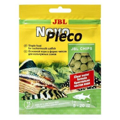 Фото - Сухой корм для рыб JBL NovoPleco, 15 г сухой корм для рыб jbl novopleco 53 г
