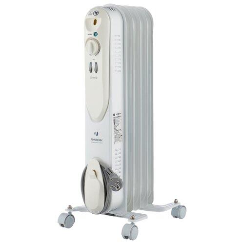 цена на Масляный радиатор Timberk TOR 21.1005 SLX белый