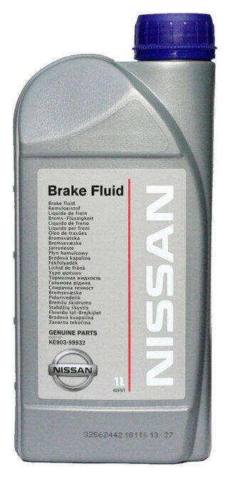 Тормозная жидкость Nissan DOT 4 1 л