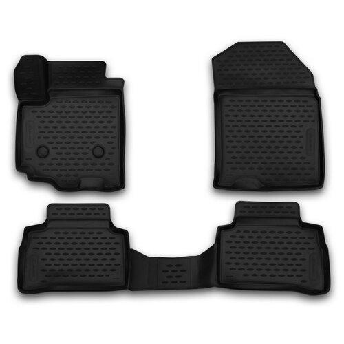 Комплект ковриков ELEMENT CARSZK00017 для Suzuki Vitara 4 шт. черный