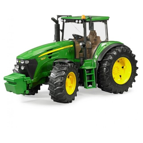 Трактор Bruder John Deere 7930 (03-050) 1:16 37.5 см зеленый bruder трактор john deere 6920 с погрузчиком зеленый