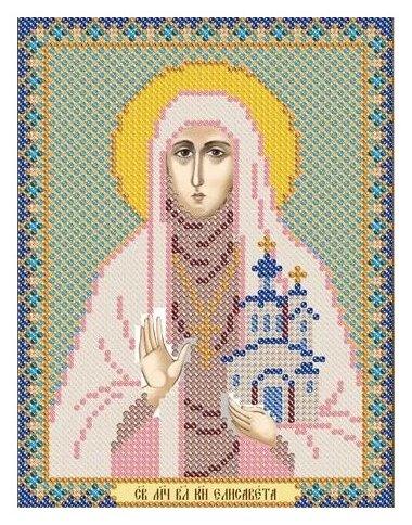 Канва для вышивания с рисунком NOVA SLOBODA Св. Преподобномученица Елизавета БИС-5120 13 х 17 см