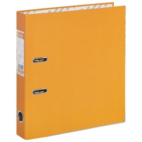 Купить Bantex Папка-регистратор Economy Plus A4, бумвинил, 50 мм оранжевый, Файлы и папки