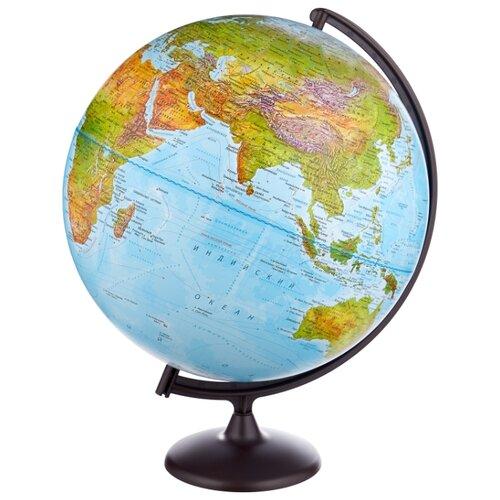 цена на Глобус физический Глобусный мир 420 мм (10322) черный