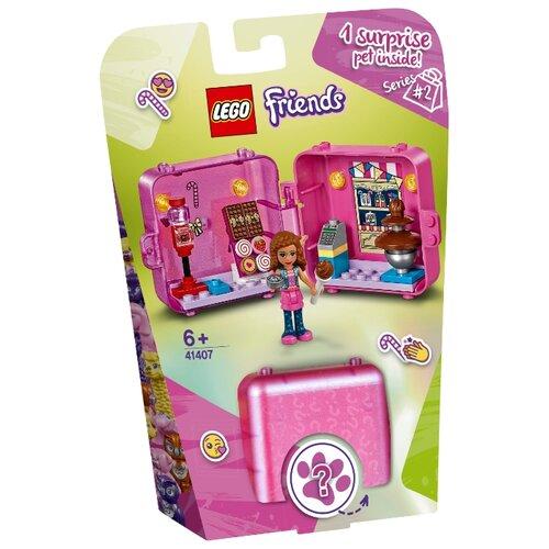 Конструктор LEGO Friends 41407 Игровая шкатулка Покупки Оливии lego friends 41354 шкатулка сердечко андреа конструктор