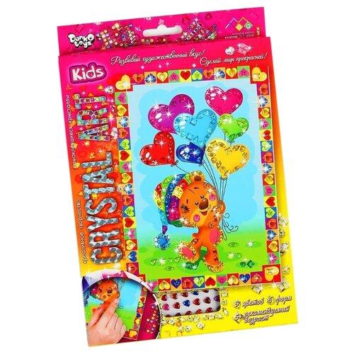Купить Danko Toys Набор алмазной вышивки Crystal Art Мишка (Cart-01-05), Алмазная вышивка