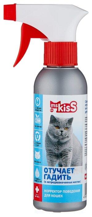 Спрей Ms.Kiss для кошек Отучает гадить 200 мл