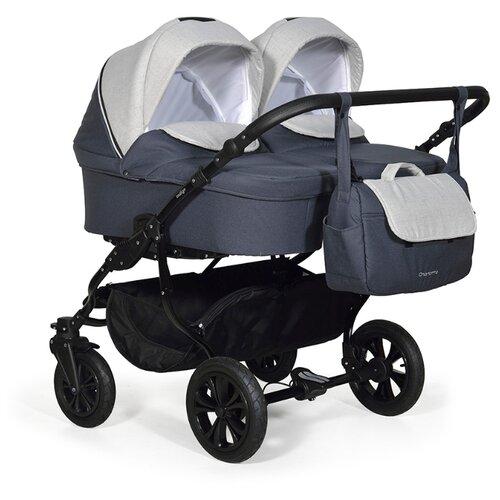 Универсальная коляска Indigo Charlotte Duo (2 в 1) Ch33, цвет шасси: черный недорого