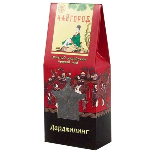 Чай черный Чайгород Дарджилинг , 100 г чай черный aroma дарджилинг ришихат 100 г