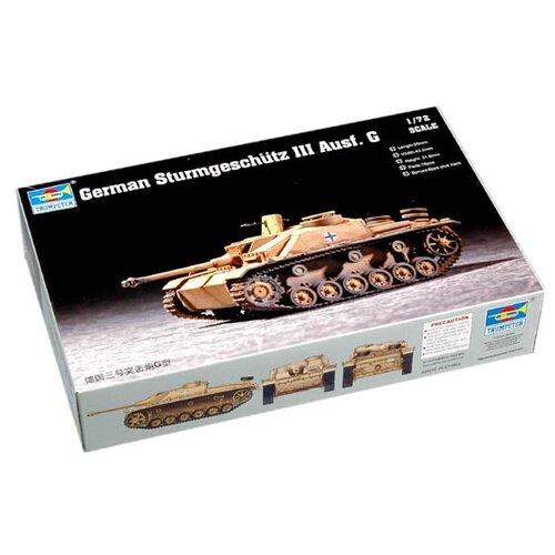 Сборная модель Trumpeter German Sturmgeschütz III Ausf. G (07260) 1:72 realts trumpeter 01034 1 35 russian kamaz 4310 truck