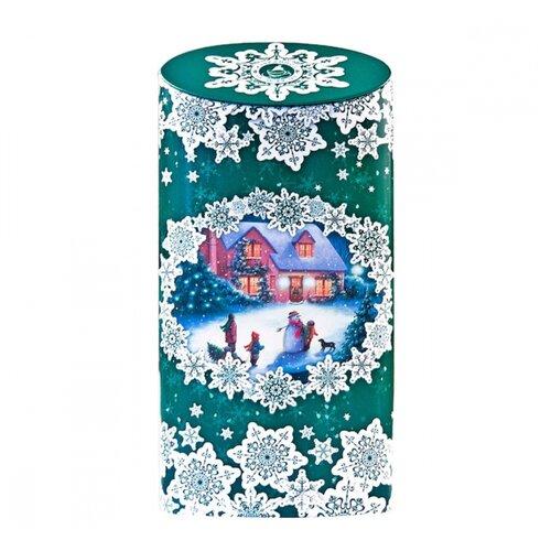 Чай черный Избранное из моря чая Снежные кружева зеленая, 50 г чай черный избранное из моря чая игристое настроение синяя бутылка 50 г