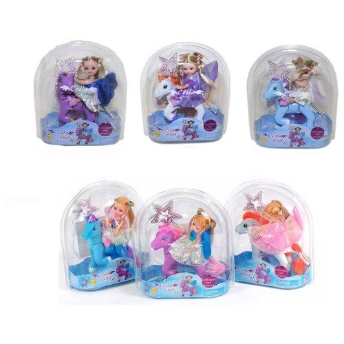 Кукла Defa Lucy Лейла с лошадкой, 61008A кукла defa lucy малышка кукла с лошадкой 15 см 8303a