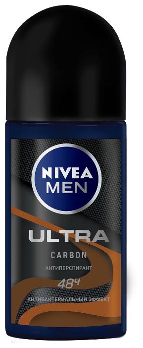Антиперспирант ролик Nivea Men Ultra Carbon