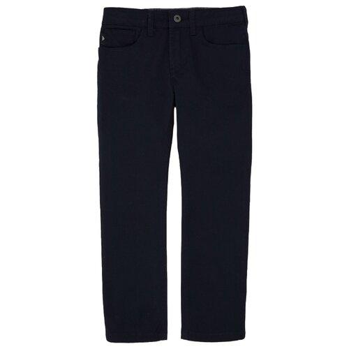 Брюки EMPORIO ARMANI размер 170, 0922 темно-синий брюки для мальчика stenser б49а 46 170 темно синий 46 170 размер