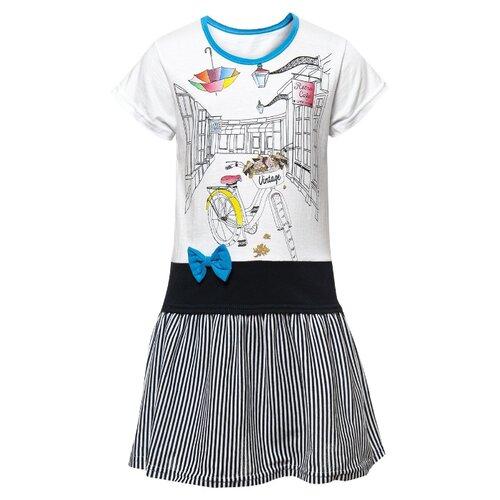 Платье M&D размер 110, бирюзовый