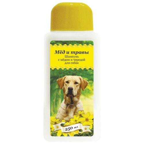 Шампунь Пчелодар с мёдом и чередой для собак 250мл шампунь для животных пчелодар 63290
