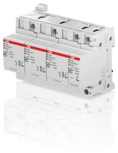Комбинированный разрядник для систем энергоснабжения ABB 2CTB815710R3600 4П