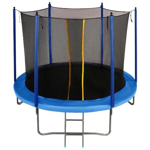Каркасный батут JUMPY Comfort 10 FT 305х305х258 см blue
