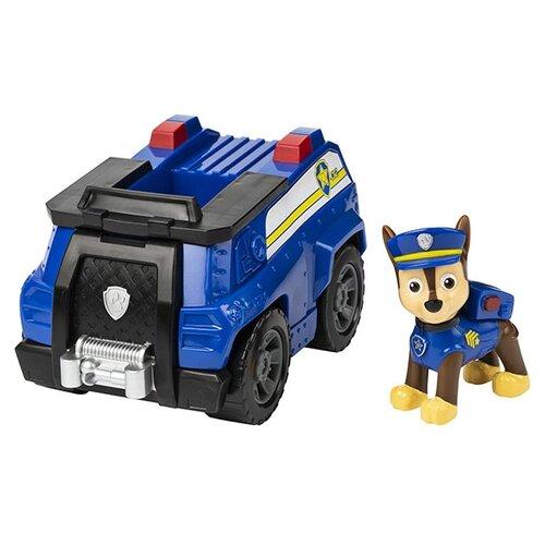 Купить Фигурка Spin Master Paw Patrol машинка с Гонщиком 6054118, Игровые наборы и фигурки