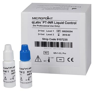 Micropoint контрольный раствор qLabs PT-INR