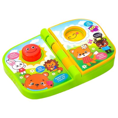Zabiaka Музыкальная книжка-игрушка Животные мира 2954622