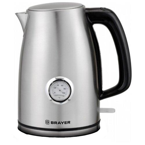 Фото - Чайник BRAYER BR1022, серебристый чайник brayer br1020