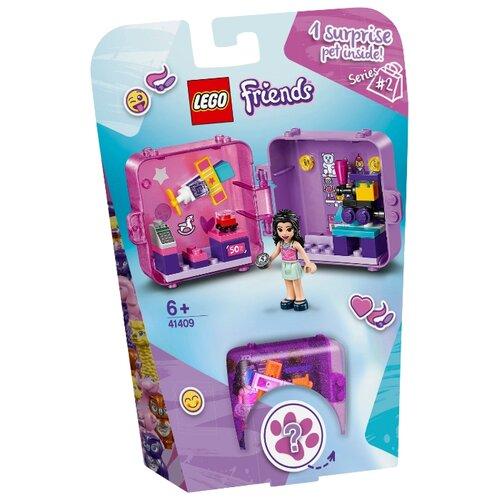 Конструктор LEGO Friends 41409 Игровая шкатулка Покупки Эммы конструктор lego friends игровая шкатулка андреа
