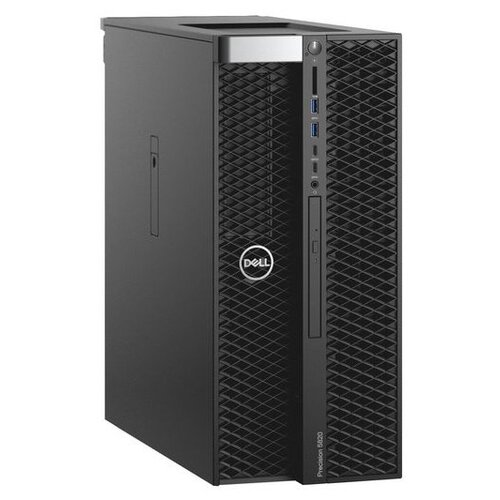 Настольный компьютер DELL Precision T5820 (5820-8055) Midi-Tower/Intel Core i9-10900X/16 ГБ/256 ГБ SSD+1 ТБ HDD/NVIDIA Quadro P2200/Windows 10 Pro черный компьютер dell precision t7820 silver 4110 32gb 2000gb hdd 256gb ssd win10pro 7820 2745