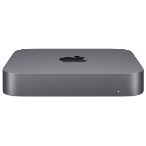 Настольный компьютер Apple Mac Mini (MXNF2RU/A) Intel Core i3-8100/8 ГБ/256 ГБ SSD/Intel UHD Graphics 630/OS X серый космос настольный компьютер lenovo ideacentre 510s 07icb intel core i3 8100 3600 mhz 4gb 1000gb dvd rw intel uhd graphics 610 no os