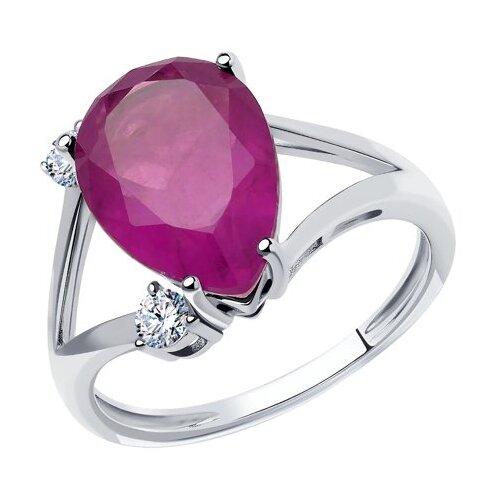 Diamant Кольцо из серебра 94-110-00522-1, размер 17 фото