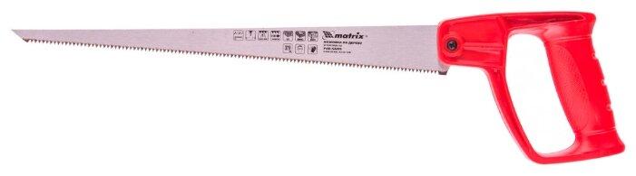 Ножовка по дереву для мелких пильных работ, 320 мм, цельнолитая однокомпонентная рукоятка Matrix