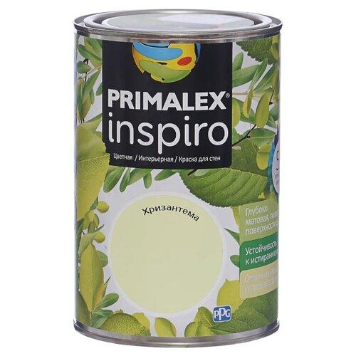 Краска PRIMALEX Inspiro моющаяся матовая хризантема 1 л
