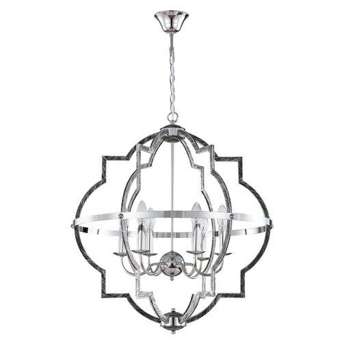 Люстра Crystal Lux FELIPE SP6, E14, 360 Вт люстра crystal lux mercedes sp6 6 chrome smoke e14 720 вт