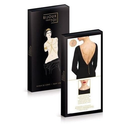 цена Bijoux pour Toi Украшение на спину Lise Or 7060100070 онлайн в 2017 году