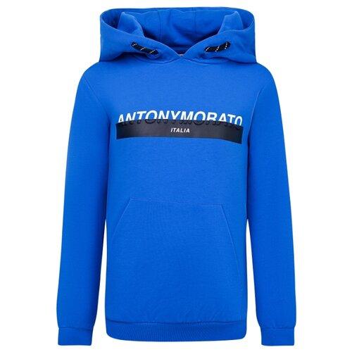 Фото - Худи Antony Morato размер 128, синий пуловер antony morato antony morato an511empoe74