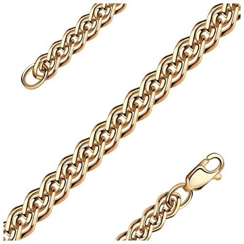 Адамант Цепь из золота плетения Нонна Зл585К-2036060, 60 см, 6.09 г